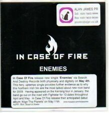 (83J) In Case of Fire, Enemies - DJ CD