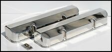 SBC CHEVY FABRICATED TALL ALUMINUM VALVE COVERS NO ACC. HOLES # 8090-3P