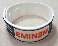 NEW EMINEM RUBBER BRACELET WRISTBAND UNISEX WOMEN MEN WHITE SOUVENIRS DAY WB63