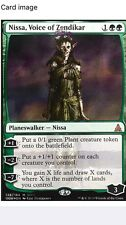 Nissa, Voice of Zendikar, SDCC 2016 Foil NM Magic MTG Zombie Walking Dead