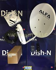 OPEN BOX WiFi DISH N 22dBi + ALFA R36 + N2S PoE Cat5e Outdoor Booster GET INTERN