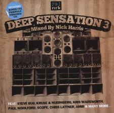 Deep Sensation 3 (SEALED 2xCD) Nick Harris Steve Bug Alexkid Shara Nelson Scope