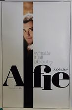 Alfie Original 2004 Double Sided 27x40 Movie Poster Jude Law  A