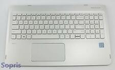 807526-001 HP Envy X360 Convertible 15 Top Cover Touchpad With Keyboard