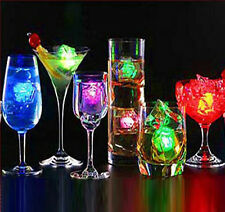 12Pcs Party Favors Wedding Multi Color Flash Led Light-up Led Ice Cube Light