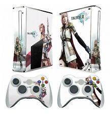 Final Fantasy X44 Vinyl Skin Sticker for Xbox360 slim and 2 controller skins