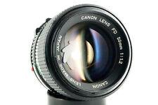 Canon Lens FD Obiettivo 50/1.2 luce GIGANTE Canon FD