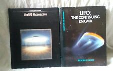 Lot of 2 UFO Space Aliens Books Universe Sightings Flying Saucer