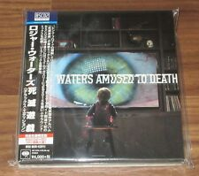 ROGER WATERS Japan PROMO issue CD + BD set PINK FLOYD Amused To Death MORE LISTE