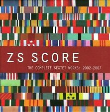 ZS Score : Complete Sextet Works 2002-2007 LTD ED. 4 CD BOX for fans of Tzadik