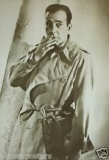 """HUMPHREY BOGART """"IN TRENCH COAT"""" GERMAN COMMERCIAL POSTER - Maltese Falcon Movie"""
