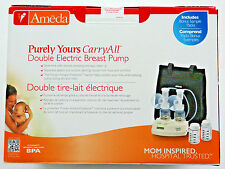 Ameda Purely Yours CarryAll Double Electric Breast Pump 17077MT HygieniKit