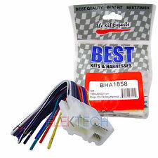 BHA1858 Aftermarket Radio Replacement 21-Pin Harness for Buick/Cadillac/GMC