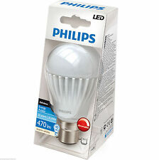 Philips 9w BC B22 Bayonet Cap Dimmable Globe LED Energy Saving Lamp Light Bulb