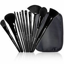 E.L.F ELF STUDIO 11 PIECE BRUSH SET COLLECTION POWDER BLUSHER BLENDING EYESHADOW