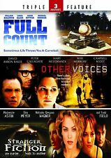 Stranger Than Fiction/Other Voices/Full Count (DVD, 2011, 2-Disc Set)