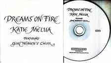 KATIE MELUA Dreams On Fire 2016 UK 3-track promo CD