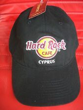 HRC Hard Rock Cafe Cyprus Zypern Black Classic Basecap New NWT