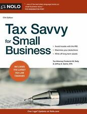 Tax Savvy for Small Business, Quinn, Jeffrey A., Daily, Frederick W., Good Condi