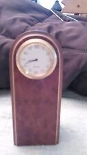 VINTAGE Solid Wood DollHouse Miniature FLOOR CLOCK Furniture  great condition