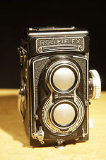 Rolleiflex T Tessar 75mm f 3.5 - formato 6x6 biottica with case no planar xenar