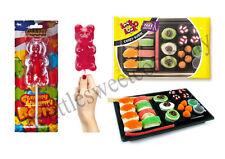 Kit de bonbons japonais Sushi & géant gommeuses nounours combo! fab idée cadeau