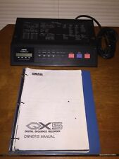 Yamaha QX5 8-track MIDI / FSK sequencer Digital Sequence Recorder W/Manual (AI)