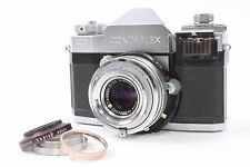Zeiss Ikon Contaflex IV 864/24 Camera w/ Carl Zeiss Tessar 50mm F/2.8 Lens