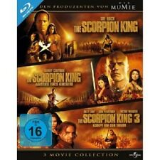 THE SCORPION KING 1-3 BOXSET 3 BLU-RAY NEU DWAYNE JOHNSON,MICHAEL CLARKE DUNCAN