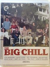 The Big Chill (Blu-ray/DVD, 2014, 2-Disc Set, Criterion Collection)