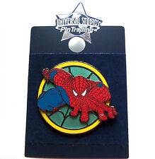 Disney Universal Studios Spiderman Trading Pin Theme Parks New Carded