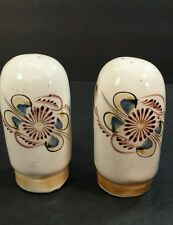 Pimienta & Sal Mexican Salt and Pepper Shakers Ceramic Vintage Hand Painted