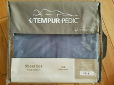 Tempurpedic Pima Cotton sheet set, Full (Double) size/ + FREE MATTRESS PROTECTOR