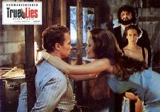 True Lies ORIGINAL Aushangfoto Arnold Schwarzenegger / Jamie Lee Curtis / Heston