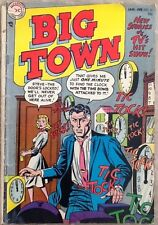 Big Town #31 comic book 1955 Golden Age DC TV detective crime Gil Kane Giella