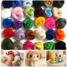 36 colors Merino Wool Fibre Roving For Needle Felting Hand Spinning DIY Kit Gift