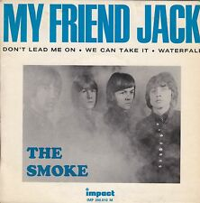 "THE SMOKE - MY FRIEND JACK - RARE ORIGINAL 1966 IMPACT FRENCH 7"" EP - PSYCH MOD"