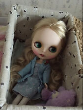 "12"" Neo Nude Blond hair matte face  Blythe doll From Factory  JSW97001"