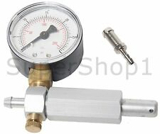 Carburetor / Crankcase Pressure Gauge Leak Detector Up to 30 PSI