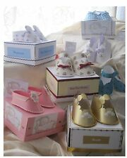 Carte / papercraff shoetemplates CD: crevette's Baby Chaussures: cd425 frandor formats