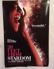 Original Movie Poster 20 Feet From Stardom Double Sided 27x40
