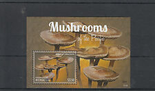 Micronesia 2013 MNH Mushrooms of Pacific I 1v S/S Nature Panaeolus