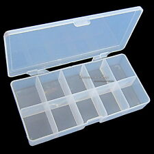 1 X STORAGE BOX CASE FOR NAIL ART SALON CRAFT MAKEUP TOOLS - 500 PCS FALSE TIPS
