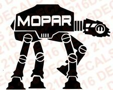 STAR WARS AT AT WALKER Car Truck Vinyl Decal Sticker MOPAR JEEP DODGE CHRYSLER