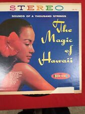 SOUNDS OF A THOUSAND STRINGS THE MAGIC OF HAWAII VINYL LP THE VOICES OF HAWAII