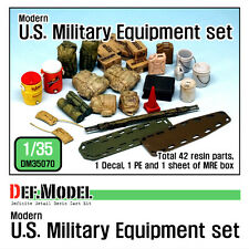 Def. model, modern u.s. military equipment set, DM35070, 1:35