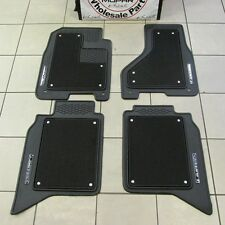 Dodge Ram Laramie Limited carpet floor mat mats front & rear MOPAR OEM