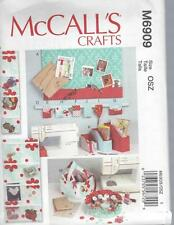 McCALL'S SEWING PATTERN CRAFTS SEWING ITEMS M6909