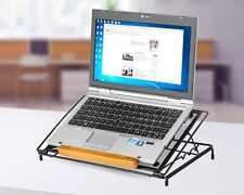 Adjustable Laptop Stand Desk Table Notebook Tablet Riser Metal Portable Bed Tray