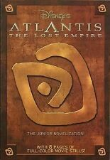 Junior Novel Ser.: Atlantis : The Lost Empire Junior Novel by RH Disney Staff (2